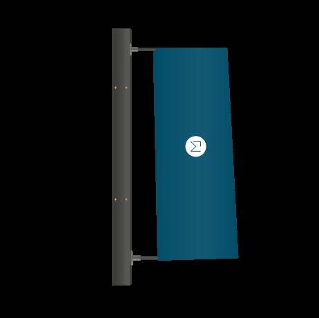 Fahnensystem Mistral